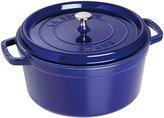 Staub Cast Iron Round Cocotte - Dark Blue - 2.75 QT