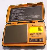 BrewGlobal Brewista Weigh Rugged Tough Digital Scale 1000g x 0.1g - Orange (TUFF-100) by On Balance