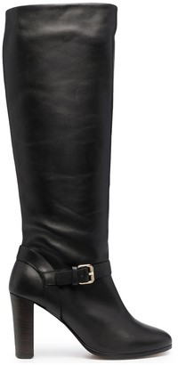 Tila March Heeled Leather Boots