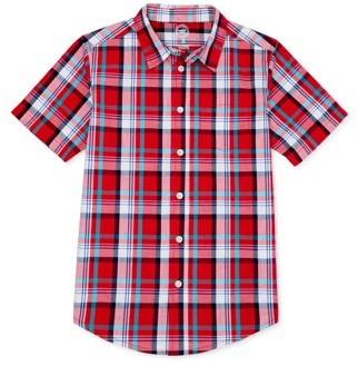 Wonder Nation Boys 4-18 Short Sleeve Shirt