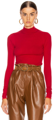 Acne Studios Kulia Sweater in Ruby Red | FWRD