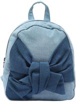 Stella McCartney Denim Backpack With Knot