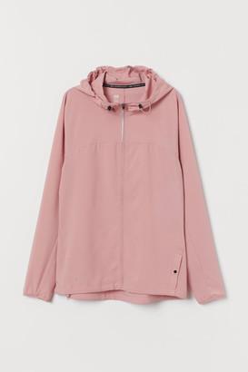 H&M Hooded running jacket