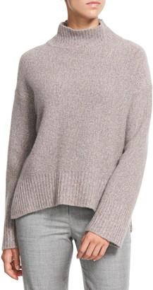 Theory Karenia Cashmere Mock Neck Sweater