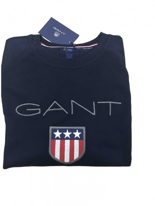 Gant Blue Cotton Knitwear & Sweatshirts