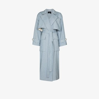 Anouki Oversized Wool Trench Coat