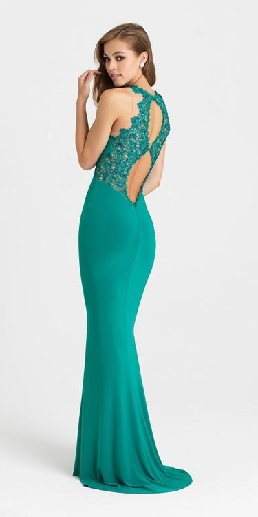 Madison James - 16-356 Dress in Jade