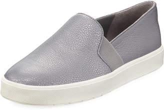Vince Blair Metallic Flat Platform Sneakers