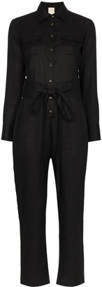 Usisi Edna belted jumpsuit