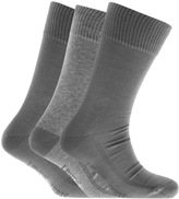 Levi's Levis 3 Pack 168SF Cotton Socks Grey