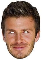 Mask-arade David Beckham - High Quality Cardboard Face Mask
