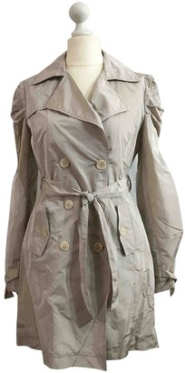 Patrizia Pepe Beige Trench Coat for Women
