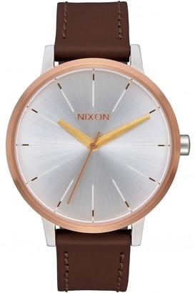 Nixon Ladies The Kensington Leather Watch A108-2632