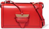 Loewe Barcelona Leather Shoulder Bag - Red