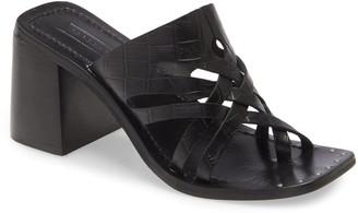 Topshop Vince Cutout Slide Sandal