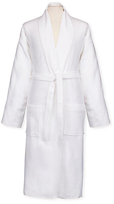 Sferra Berkley Reverse Bath Robe - White