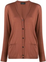 Roberto Collina relaxed-fit V-neck cardigan