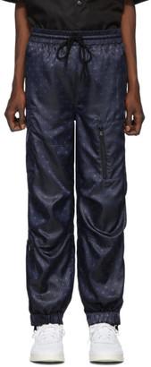 Alexander Wang Navy Monogram Lounge Pants