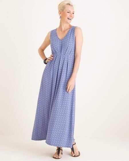 ce737beadd1 Blue Dress White Dots - ShopStyle