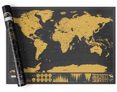 Luckies Scratch Map Deluxe