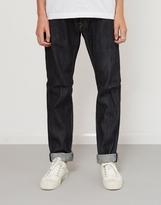 Edwin ED-55 Slim Tapered Nihon Menpu Japan Selvage Stretch Fabric Jeans Raw Blue