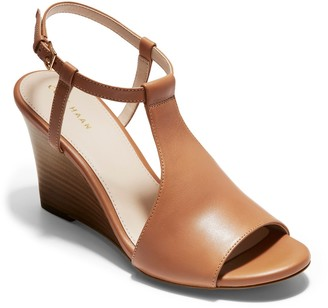 Cole Haan Maddie Open Toe Wedge Sandal