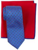 Ted Baker Frame Pine Silk Tie & Pocket Square Set