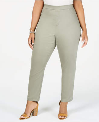 Sound/Style Lucy Plus Size Colored Denim Jeggings