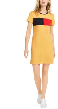Tommy Hilfiger Colorblocked T-Shirt Dress