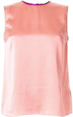 Roksanda silk sleeveless blouse