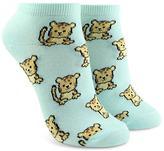 Forever 21 FOREVER 21+ Lion Cub Print Ankle Socks