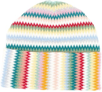Missoni Herringbone Knit Beanie