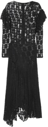 Etoile Isabel Marant Vally floral cotton-lace dress