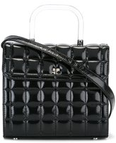 Courreges quilted cross body bag