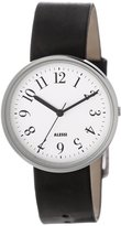Alessi Men's AL6000 Record Stainless Steel Designed by Achille Castiglioni Watch