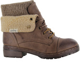 Coolway Brown Bring Leather Boot