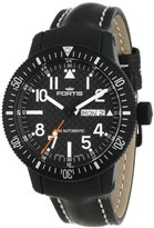 Fortis Men's 647.28.71 L.01 B-42 Marinemaster Black Automatic Date Leather Watch