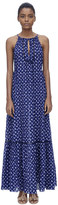 Rebecca Taylor Sleeveless Criss Cross Maxi Dress