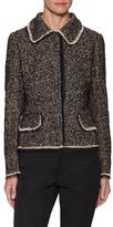 Dolce & Gabbana Tweed Fitted Blazer