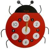 Creative Motion IND Creative Motions Ladybug Clock - Red/Black