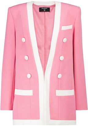 Balmain Crepe blazer