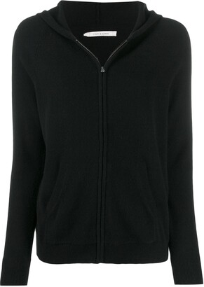 Chinti and Parker Zip-Up Cashmere Hoodie