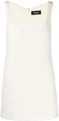 DSQUARED2 Square-Neck Mini Dress
