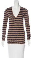 Burberry Intarsia Silk Sweater