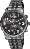 August Steiner Men's Stainless Steel Chronograph Watch, 44mm