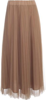 P.A.R.O.S.H. Long Pleated Skirt