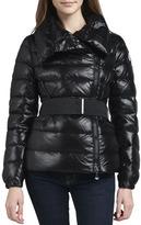 Moncler Sabline Asymmetric Belted Puffer Jacket