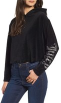 Juicy Couture Women's Gothic Logo Velour Hoodie