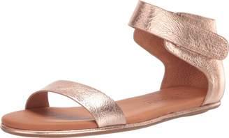 Gentle Souls Women's Break Even Flat Sandal Ankle Strap