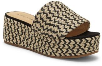 Lucky Brand Befanni Platform Slide Sandal